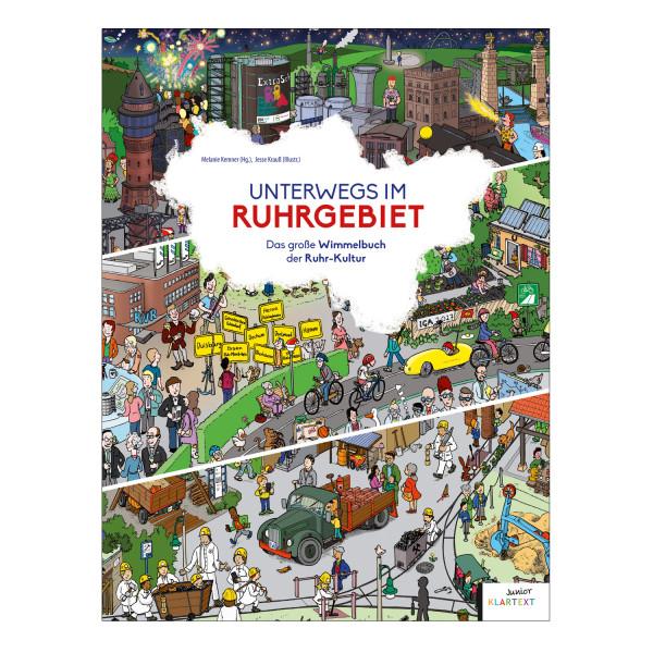 Unterwegs im Ruhrgebiet- Wimmelbuch