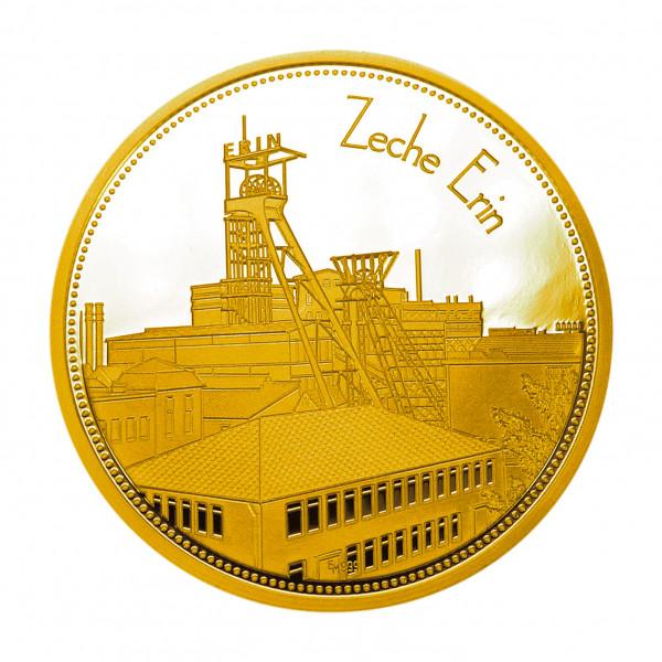 """Sammeledition """"Zechen im Ruhrgebiet"""" - 5. Motiv """"Zeche Erin"""" - Gold"""