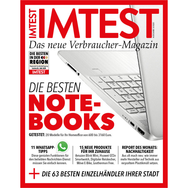 IMTEST E-Paper - Die besten Notebooks 2020