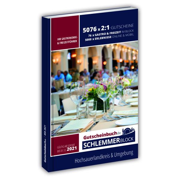 Gutscheinbuch.de Schlemmerblock Hochsauerlandkreis 2021