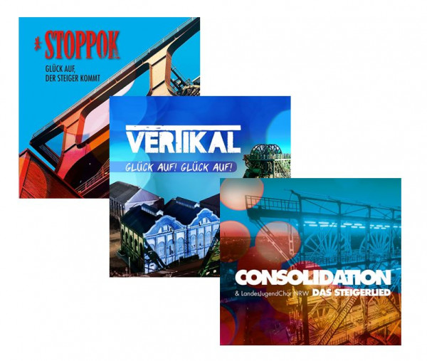 Aktionspaket Steigerlied 3 CD`s