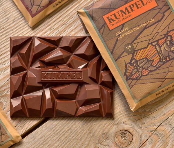 Kumpel-Schokolade - 4er-Set (4 x 150gr)