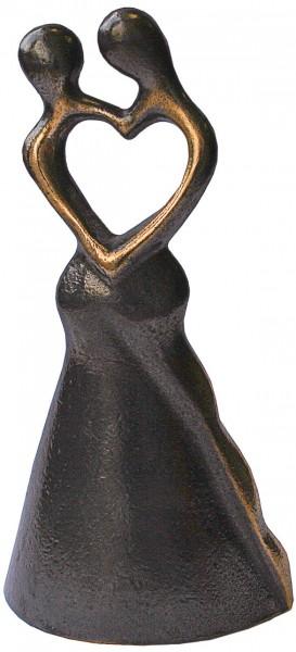 "Bernardo Esposto: Skulptur ""Liebespaar"", Bronze"