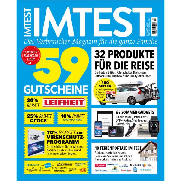 IMTEST E-Paper - 59 Gutscheine 02/21