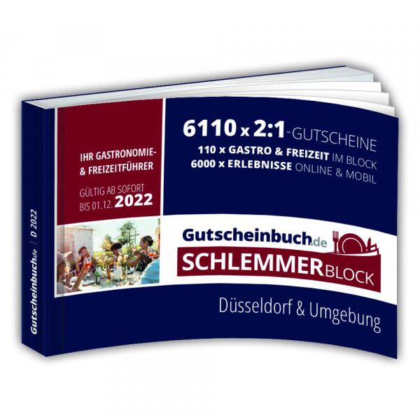 Gutscheinbuch.de Schlemmerblock Düsseldorf 2022