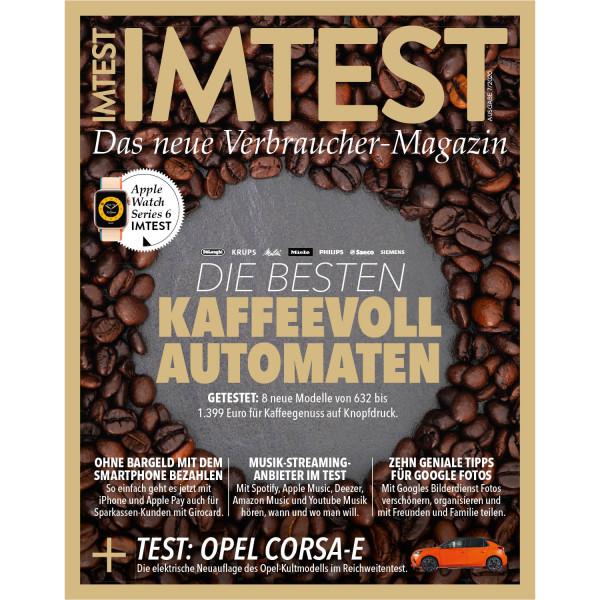 IMTEST E-Paper - Die besten Kaffeevollautomaten 2020
