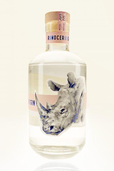 """""""Rinocero Dry Gin"""" 0,5l Flasche, 41% Vol."""