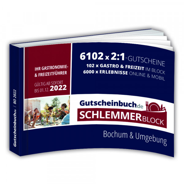 Gutscheinbuch.de Schlemmerblock Bochum 2022