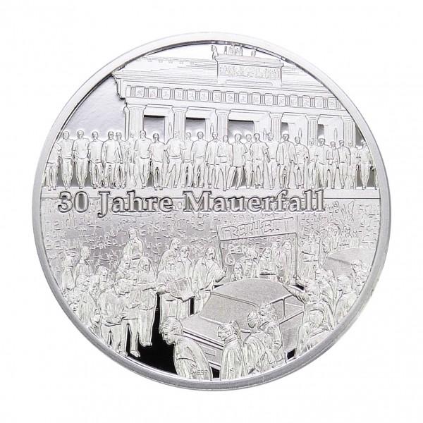 Sonderprägung 30 Jahre Mauerfall - Silber